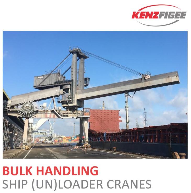 KenzFigee_Bulk_Handling_Ship loader_ship_unloader_Crane_Orange_Delta_Equipment
