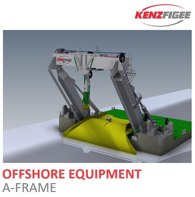 KenzFigee_Offshore_Equipment_Lifting_A-FRAME_Orange_Delta_Equipment