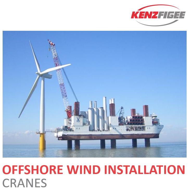 KenzFigee_Offshore_Wind_Installation_Crane_Orange_Delta_Equipment