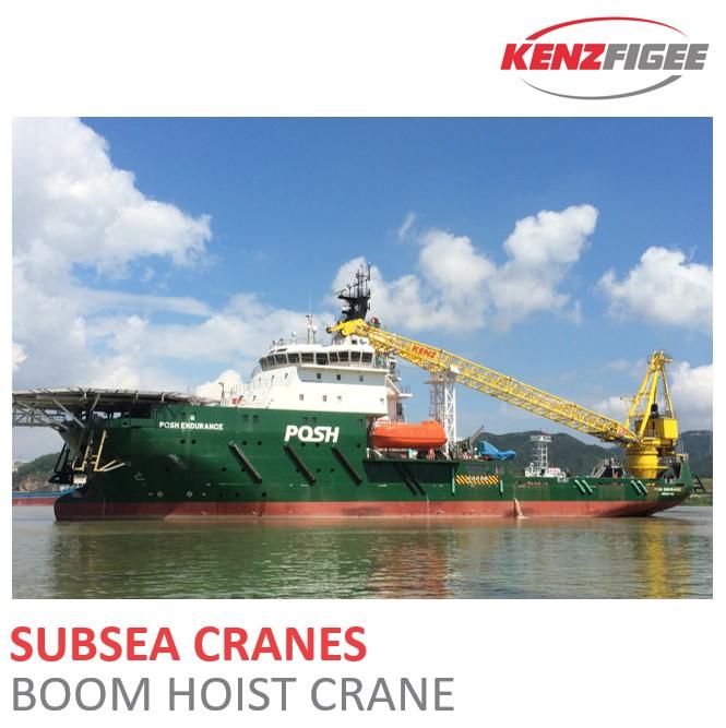 KenzFigee_Subsea_Cranes_Boom_Hoist_Crane_Orange_Delta_Equipment