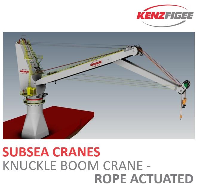 KenzFigee_Subsea_Cranes_Knuckle_Boom_Crane_Rope_Actuated_Orange_Delta_Equipment