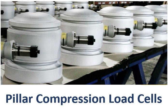 Strainstall_Pillar_Compression_Load_Cells_Orange_Delta_Equipment