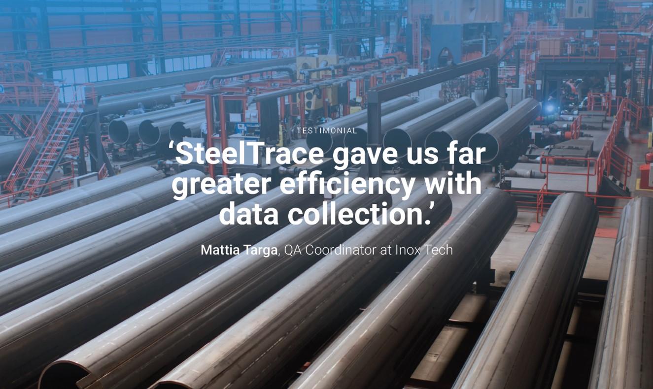 SteelTrace_Orange_Delta_Equipment_Banner_Testimonial_Inox_Tech